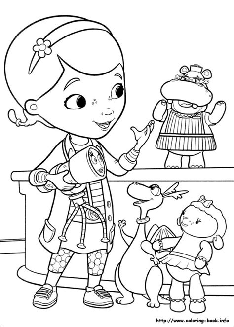disney coloring pages doc mcstuffins doc mcstuffins coloring picture disney coloring pages