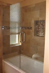 bathtub shower doors frameless 25 best frameless glass shower doors ideas on