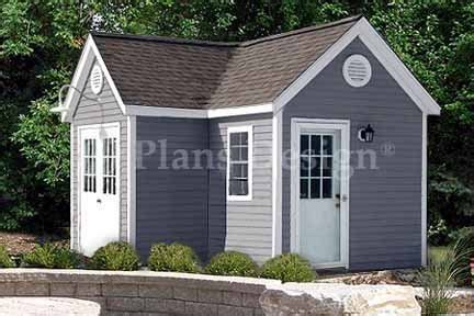 7 X 12 Shed by 7 X 12 L 7 X 5 Dual Storage Shed Project Plans Design