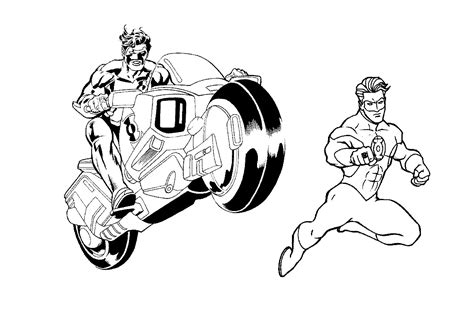 Free Printable Green Lantern Coloring Pages For Kids Color Chkids Green Lanter