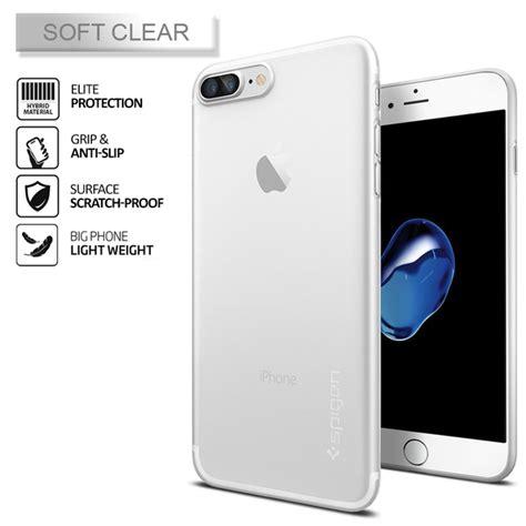 Special Spigen Iphone 7 Airskin iphone 7 plus genuine spigen air skin ultra thin soft cover for apple