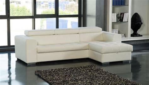meridienne convertible lit meridienne cuir blanc maison design wiblia