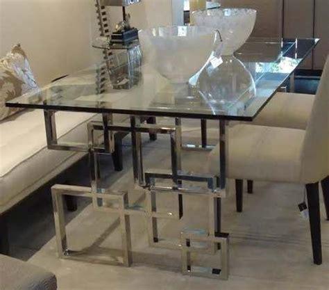 mesas de acero inoxidable centro comedor lateral