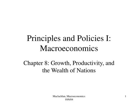 macroeconomics principles and policy ppt principles and policies i macroeconomics powerpoint