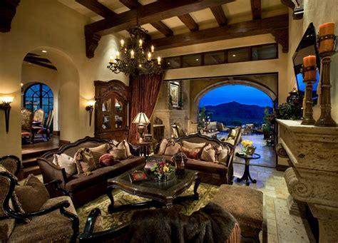 living room scottsdale italian villa ii
