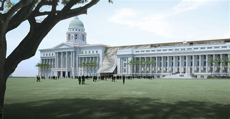 designboom national gallery singapore singapore s iconic national gallery celebrates first