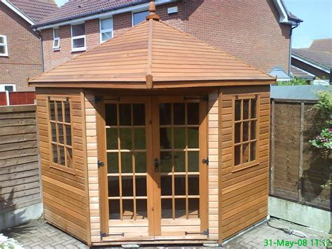 garden building installation shed summerhouses