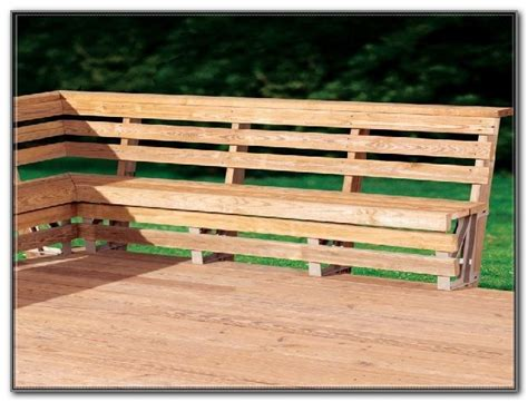 wood bench designs for decks deck wood bench seat plans decks home decorating ideas