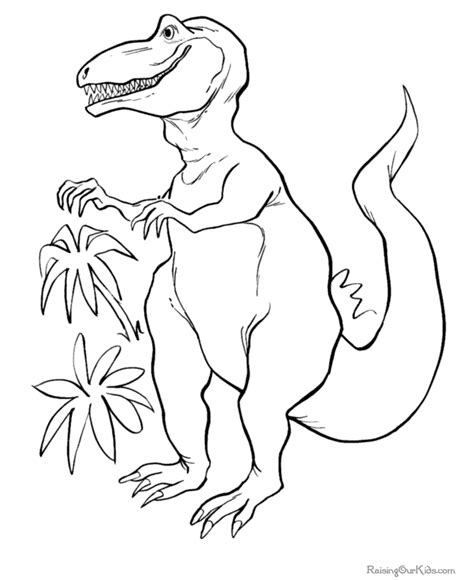 dinosaur printable pictures dinosaur coloring page 002