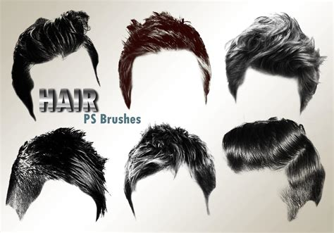 male hair templates for photoshop 20 hair male ps brushes abr vol 2 free photoshop