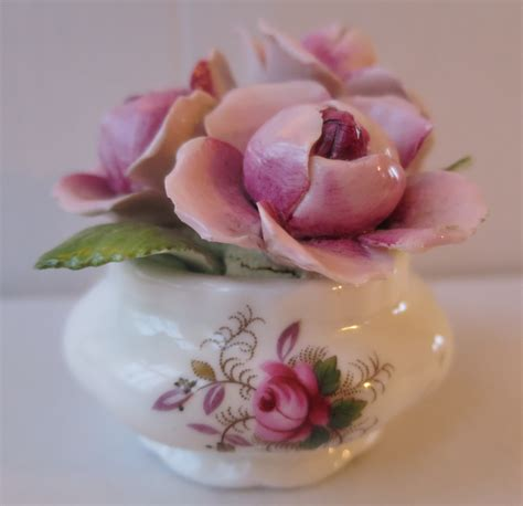 rose royal royal albert rose posies vintage treasure