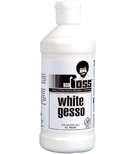 bob ross painting with gesso bob ross white gesso 473 ml jo