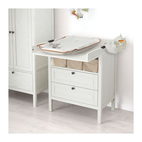 sundvik changing table chest of drawers white ikea