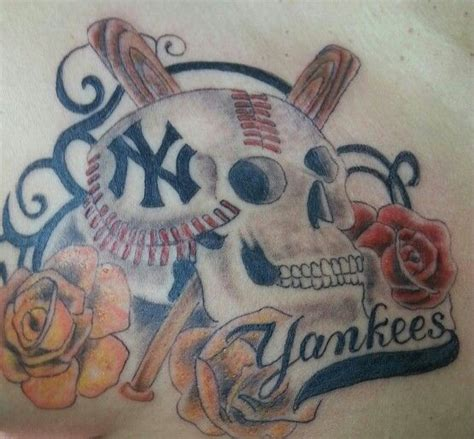 yankees tattoo pictures 23 best new york yankees tattoos images on pinterest