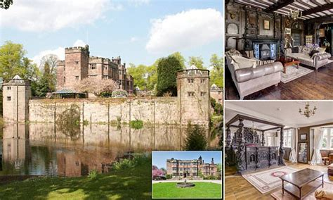one of the last moated castles in england is for sale and live like a king one of the last moated castles in