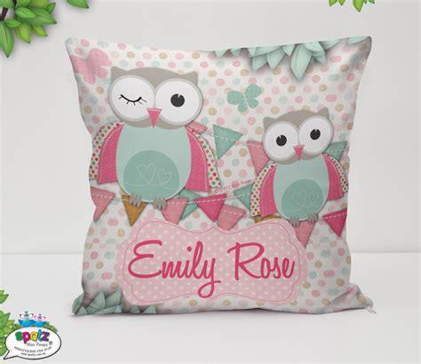 Home Decor Fabric Australia personalised kids cushion covers spatz mini peeps 174