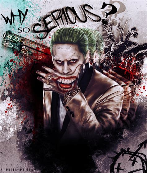 imagenes de joker why so serious the joker why so serious by alessiaboldry on deviantart