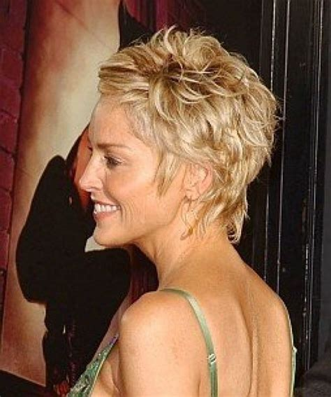 How To Style Sharon Stones Short Hair Style | sharon stone back short hairstyles short 187 sharon