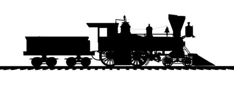 steam locomotive silhouette www imgkid com the image
