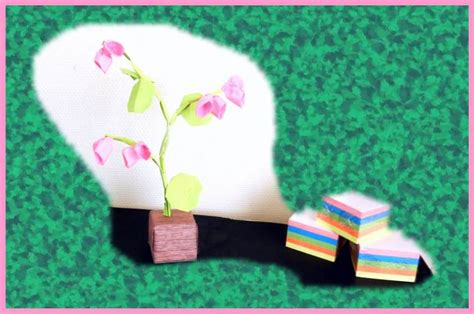 Sticky Note Origami Flower - joost langeveld origami page