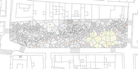 architectural pattern exles voronoi diagram in architecture tomaszjaniak