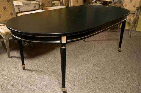 unusual louis xvi style oval dining table with copper top french louis xvi style oval dining table by jansen at 1stdibs