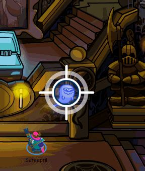 Ghost Cathcer 2012 how to catch a ghost in club penguin caldeira gcp