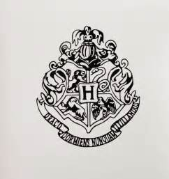 hogwarts house crest vinyl decal