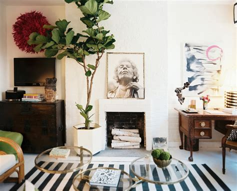 home we love eclectic living room with a bohemian twist