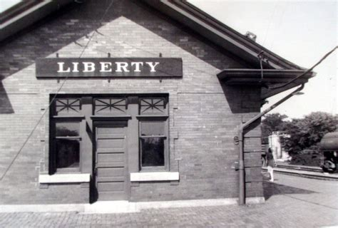 c b q depot liberty missouri home