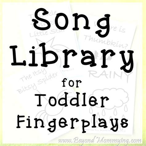 song cards songs to sing with toddlers songs for toddlers songs