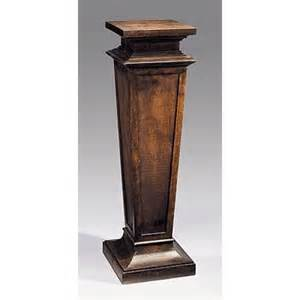 Pedestal Display Stand Wood Pedestal 716 From Decorative Crafts