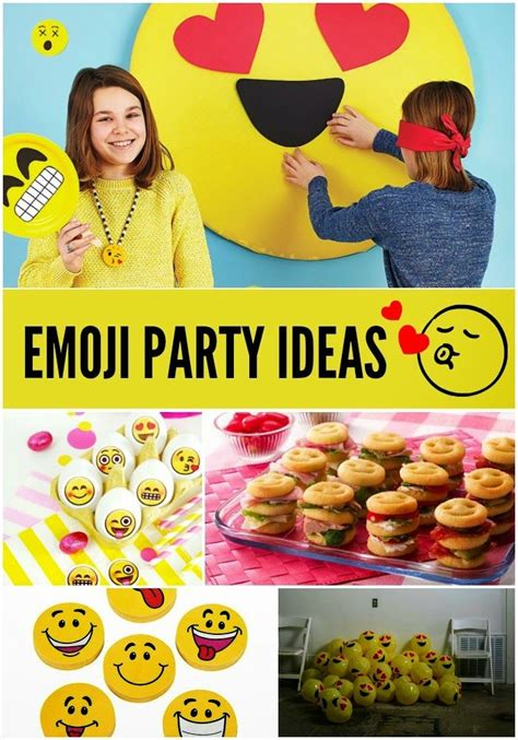 emoji party tuesday trend emoji party ideas emoji birthdays and
