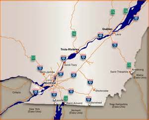 canada border crossings map qu 233 bec 511
