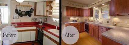 Reface Kitchen Cabinets Before And After by Cabinet Refacing Gallery Wheeler Brothers Construction