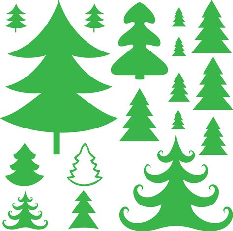 16 vinyl christmas tree decals for the holidays christmas