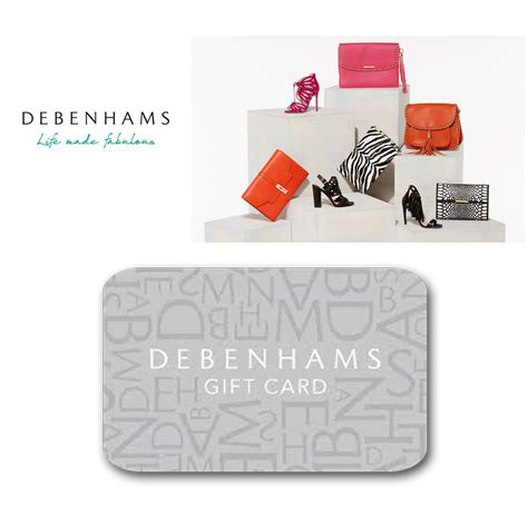 Debenhams Online Gift Card - full wedding gift list range the gift list