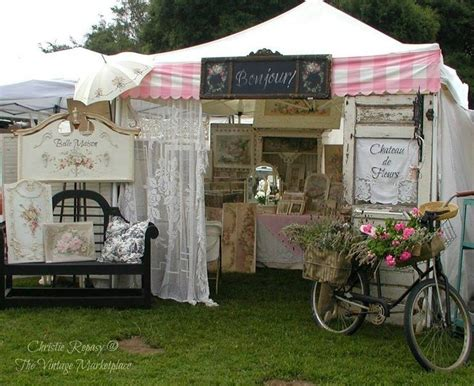 shabby chic market craft fair display ideas