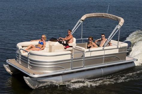 best deals on new pontoon boats sunchaser classic cruise 8520 cruise boats for sale