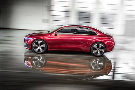 mercedes concept cars mercedes concept a sedan revealed cars co za