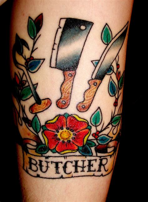 butcher tattoo 30 cool school tattoos designs ideas