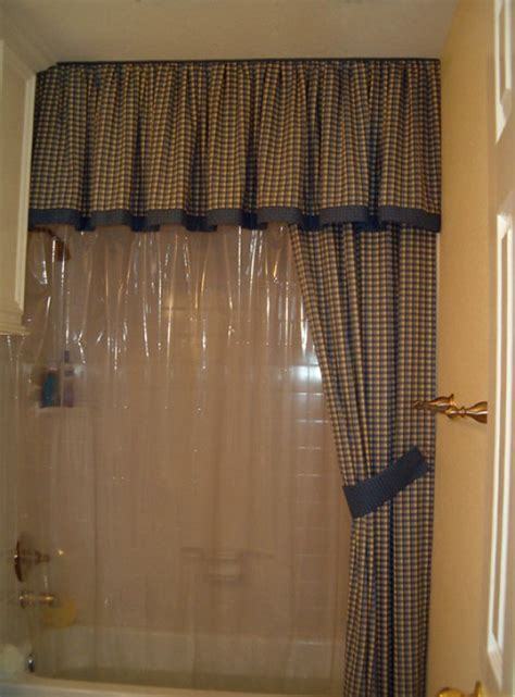 split shower curtain with valance split shower curtains with valance home design ideas