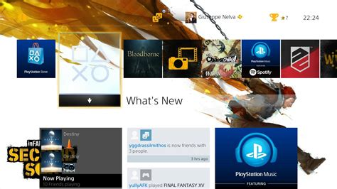 ps4 themes psn europe infamous second son and first light ps4 themes finally