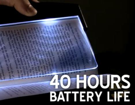 Lightwedge The Energy Efficient Reading Light by Lightwedge Led Book Light Illuminates Without Disturbing