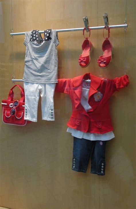 creative ways to store clothes simple resale display front windows window and school