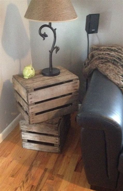 crate side table 25 best ideas about crate table on wood crate