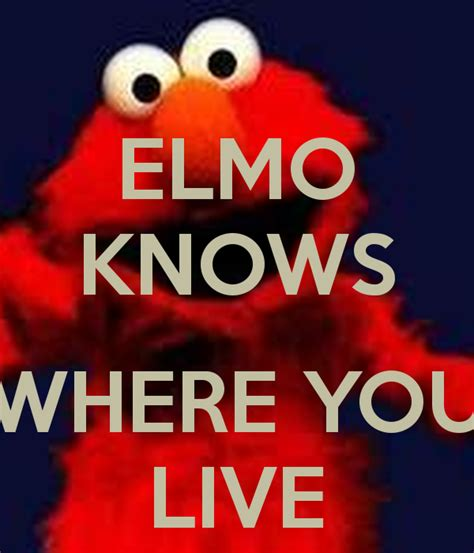 elmo      calm  carry  image