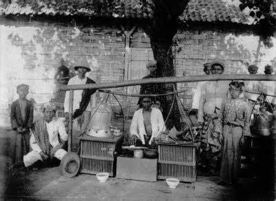 pohon bercabang foto pedagang jaman belanda
