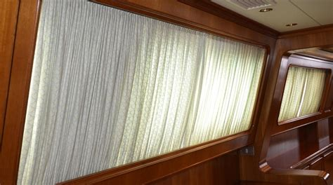 boat window curtains drapery cleaning for yachts and boats in south florida