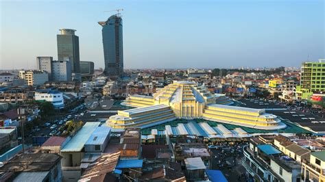 Phnom Penh Today by Phnom Penh City In Cambodia Sightseeing And Landmarks